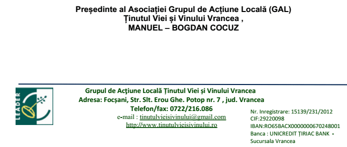 GAL TVV Tinutul Cocuz footer